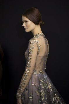 Vogue\'s View: The Best of Backstage and Front Row at Spring 2014 Couture - Vogue Daily - Fashion and Beauty News and Features