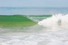 Emerald waters.  Crooked Island Beach