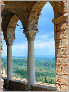 the 13th century Byzantine settlement of Mystras, Laconia, Peloponnese, Greece (one of my favourite sites of cultural importance to visit anywhere - so peaceful, green and the ruins are fascinating)