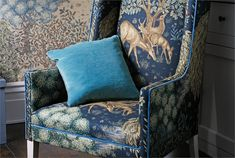 7. The Brook Fabric Chair - Morris
