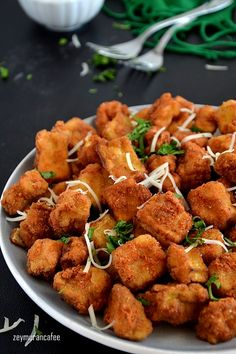 Fried Eggplant Recipes, Baked Eggplant Fries, Roast Recipes, Vegan Recipes, Turkish Recipes, Ethnic Recipes, Dinner Party Recipes, Summer Recipes, Love Food