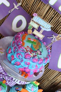 Hawaiian Luau Birthday Party Ideas   Photo 7 of 22   Catch My Party