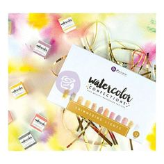 Prima Marketing - Watercolor Confections - Shimmering Lights
