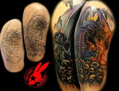 62076baea410a 43 Best By Jackie Rabbit Tattoo images in 2017 | Arm Tattoo, Arm ...