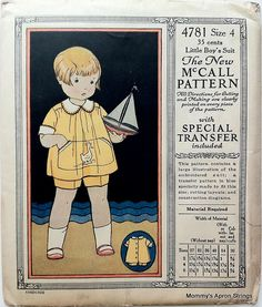 Why I Buy Vintage Patterns.part 2 - The most beautiful children's fashion products Childrens Sewing Patterns, Mccalls Patterns, Vintage Sewing Patterns, Chewbacca, Little Boys Suits, Sewing Barbie Clothes, Doll Clothes, Sewing Pants, Babies Clothes