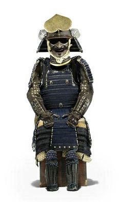 A tachi do tosei gusoku armour. The helmet by Nagamichi, mid Edo Period, early 19th century. Estimate £12,000 - 15,000 (€15,000 - 18,000). Photo: Bonhams.