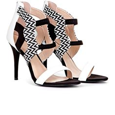 Vida Monochrome Contrasting Sandal Heeled Shoe in White (170 RON) ❤ liked on Polyvore featuring shoes, sandals, heels, sapato, white, white suede shoes, heeled sandals, synthetic shoes, suede sandals and suede shoes