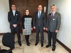 O ministro da Saúde, Ricardo Barros, recebeu na tarde de ontem, 25 de julho, nas dependências do Palácio Iguaçu,  em Curitiba,  o…