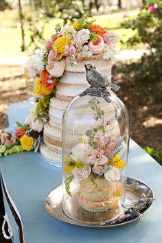Colorfully modern shabby chic Spring wedding