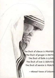 Blessed Mother Teresa Catholic Quotes, Catholic Prayers, Religious Quotes, Catholic Saints, Catholic Mass, Roman Catholic, Religious Art, Spiritual Quotes, Mother Theresa Quotes