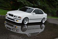 """BMW E39 M5 on 19"""" Fikse Profil 10"""