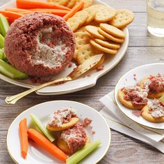 Cold Appetizers, Recipes Appetizers And Snacks, Finger Food Appetizers, Appetizer Dips, Snack Recipes, Savory Snacks, Dip Recipes, Finger Foods, Finger Food
