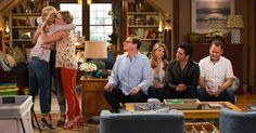 Netflix released the first images from the set of its original series 'Fuller House' on Thursday, Jan. featuring familiar faces like Candace Cameron Bure, Jodie Sweetin and Andrea Barber — see the photos Fuller House Season 1, Fuller House Cast, House Season 2, Netflix Releases, Shows On Netflix, Netflix Series, John Stamos, Lori Loughlin, Andrea Barber
