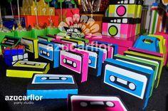 AZUCAR FLOR party studio: Mesa de dulces OCHENTERA
