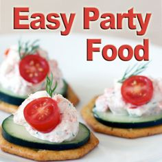 Easy Party Food Recipes