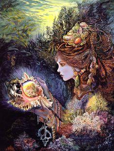 "coroebus: "" Daughter of the Deep - Josephine Wall """
