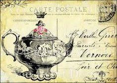 vintage tea party invitations - Google Search