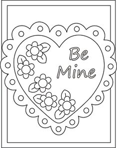 free valentine coloring pictures to print off Valentines day