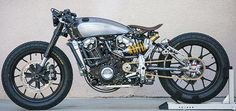 """The """"Unfinished' Indian Scout By Roland Sands"""