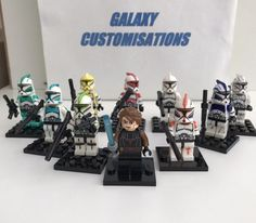 Star Wars minifigures Clone Custom Troopers Fits Lego  | eBay
