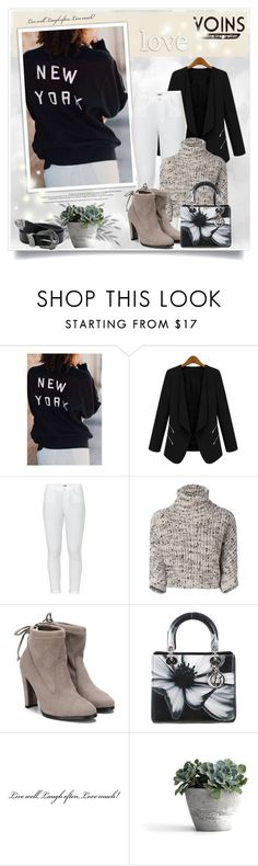 """Yoins201"" by sneky ❤ liked on Polyvore featuring Paige Denim, Brunello Cucinelli and Christian Dior"