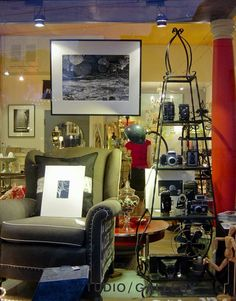 Collage Gallery on Potrero Hill is full of artwork, jewelry and accessories by local artists as well as reclaimed items for home decor.