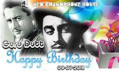 !! Happy Birthday !! !! Guru Dutt Ji !! #NewGramophoneHouse Vinyl Records, Festive, Happy Birthday, Movie Posters, Happy Brithday, Film Poster, Urari La Multi Ani, Popcorn Posters, Happy Birthday Funny