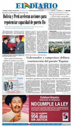El Diario - Bolivia y Perú aceleran acciones para repotenciar capacidad de puerto Ilo