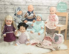 Sewing for dolls: there are many freebooks! - Mouse Kid & Dwarf Man : Sewing for dolls: there are many freebooks! Handgemachtes Baby, Baby Born, Baby Clothes Patterns, Clothing Patterns, Dolly Doll, Making A Model, Man Child, Old Clothes, Baby Alive
