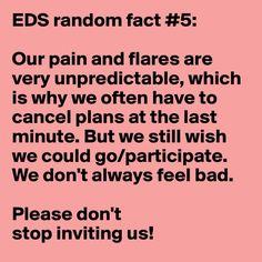 EDS awareness facts