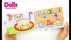CASA DE MUÑECAS DE PAPEL EN ALBUM PARA GATOS JUGUETES HECHO A MANO Doll Drawing, Child Doll, Paper Dolls, Cats And Kittens, Easy Crafts, Kids Toys, Make It Yourself, Diy, Drawings