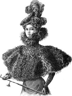 Paris fashion - 1897