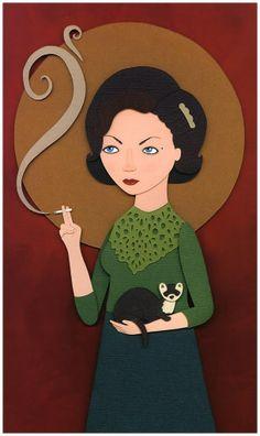 Saint Audrey – Meghan Stratman | #Twin_Peaks #Audrey_Horne