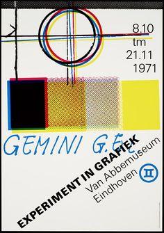 Jan van Toorn, плакат, 1971