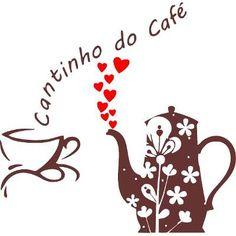 Adesivo Parede Cozinha Cantinho Do Café Xícara Coração - R$ 27,99