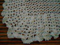 Baby Crochet Blanket and Shawl  Cuddle blanket (nannycheryl original) ID 683 £35.00