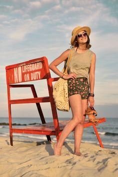 H hat, Elizabeth & James Fairfax sunglasses, David & Scotti bag, bikini top from target, bikini bottoms from J.Crew, Pour La Victoire Ilissa sandals - San Francisco to New York Style and Fashion Blogger