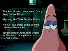[cekidot] kata-kata bijak film SpongeBob SquarePants Love My Brother Quotes, I Love My Brother, Text Quotes, Mood Quotes, Daily Quotes, Deep Wallpaper, Fake Friend Quotes, Happy Memes, Cartoon Quotes