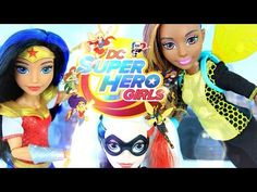 Doll Review: DC Super Hero Girls - YouTube