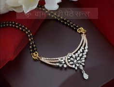 Gold Ring Designs, Gold Earrings Designs, Necklace Designs, Indian Jewelry Earrings, Bridal Jewelry, Beaded Jewelry, Diamond Mangalsutra, Gold Mangalsutra Designs, Gold Pendent
