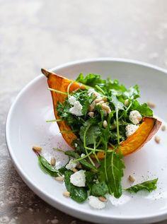 салот из тыквы и руколыЕдим вкусно и полезно: салаты