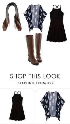 """""""Untitled #12121"""" by iamdreamchaser ❤ liked on Polyvore featuring Hollister Co."""