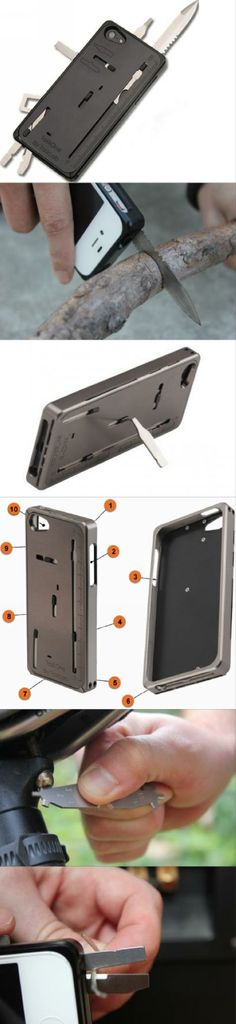 This phone case integrates 22 kinds of common tools