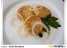 Nakládané cuketové karbanátky Shrimp, French Toast, Eggs, Meat, Chicken, Breakfast, Food, Morning Coffee, Essen