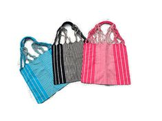 NEW Beach bags boho bags cotton bags handmade by handmadewithart