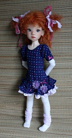 IMG_1617 | Flickr - Meadow doll  - Cute doll by Kaye Wiggs