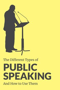 Did you know there are four types of public speaking activities? Learn what they are and how to apply to them to be the next public speaking pro! Public Speaking Activities, Speaking Games, Public Speaking Tips, Best Speakers, Presentation Skills, Good To Great, Different Types, Opinion Writing, Sixth Grade
