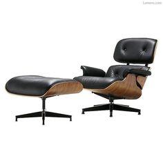 eames chair and ottoman #EamesChair