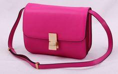 Сумка CELINE classic box bag розовая