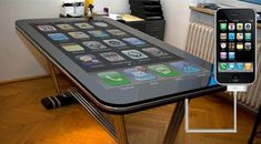 Table connect turns your iPhone into a 58-inch multitouch surface